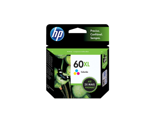 Cartucho de Tinta HP 60 Color‏