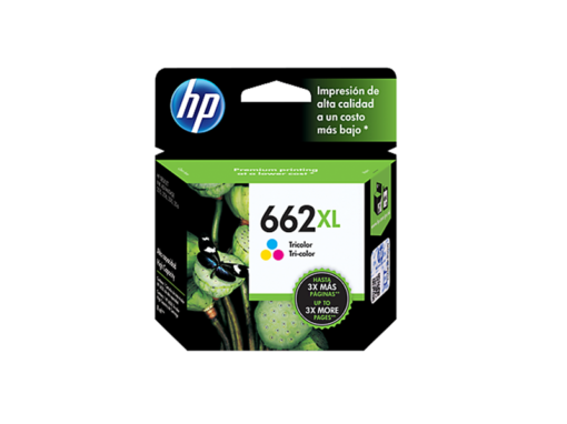 Cartucho de Tinta HP 662XL Color‏