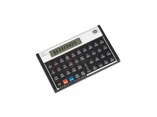 Calculadora Financeira Platinum 12C – HP‏
