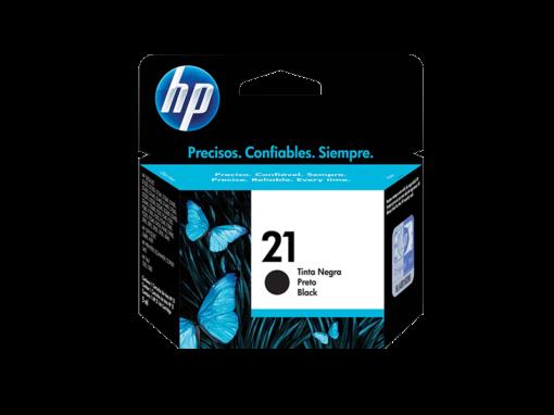 Cartucho de Tinta HP HP21 C9351AB Preto 13568