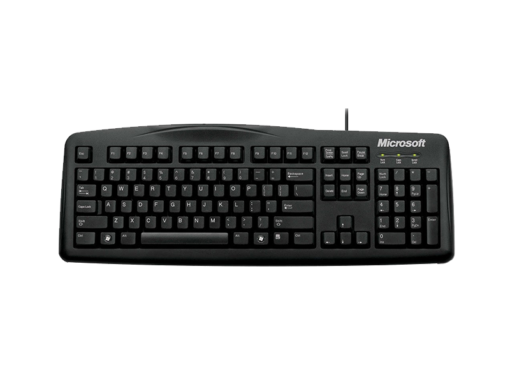 Teclado Microsoft Wired Keyboard 200 For Business‏